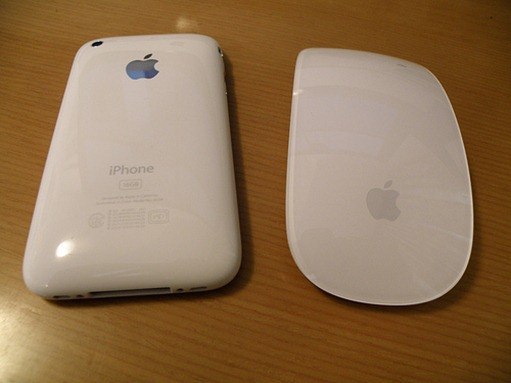 Magic Mouse like touch panel for iPhone 4G