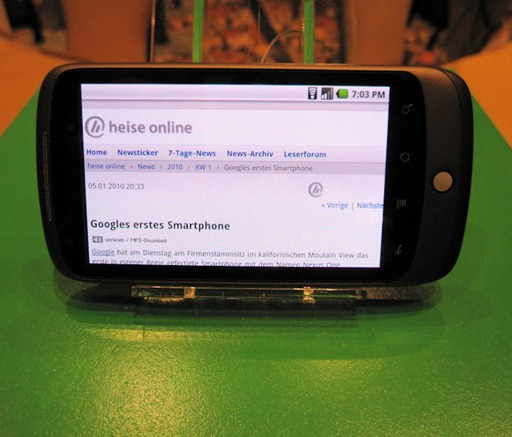 Multitouch on Nexus One