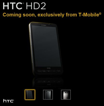 T-Mobile HTC HD2