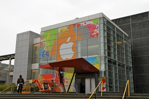 Apple Tablet Announcement: Yerba Buena Center