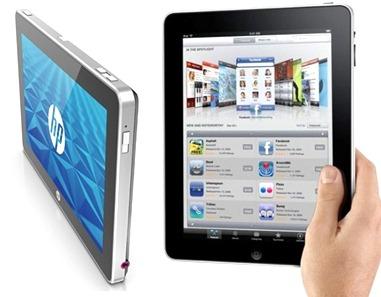 iPad vs HP Slate
