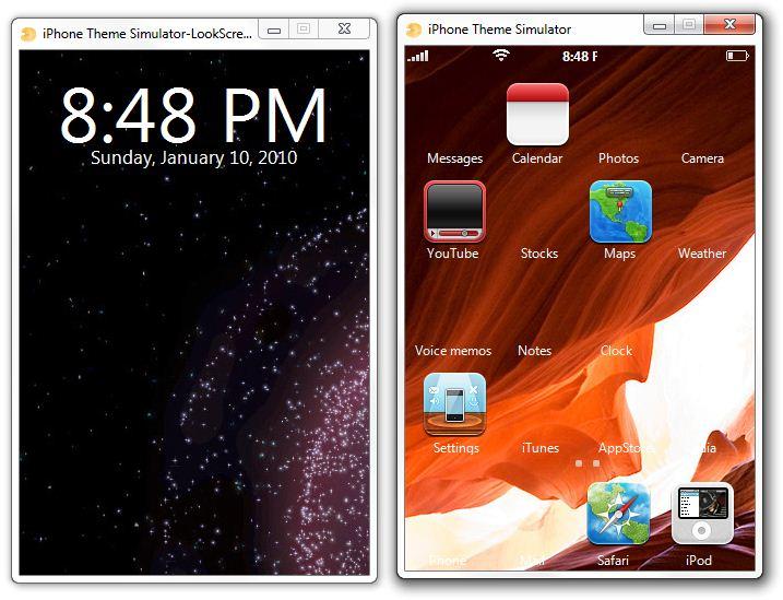 iPhone Theme Simulator for Windows and Mac | Redmond Pie