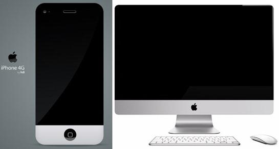 iPhone 4G iMac