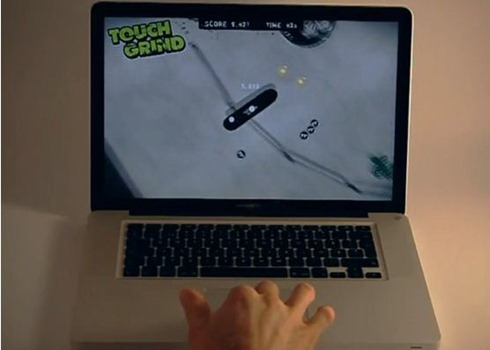 Multitouch Gaming on MacBook Pro