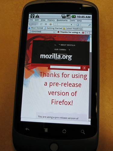 Firefox on Nexus One