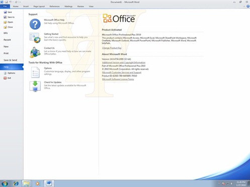 Office 2010 Release Candidate