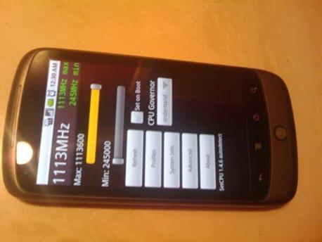 Overclock Nexus One