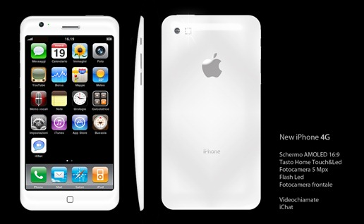 Super AMOLED iPhone 4G