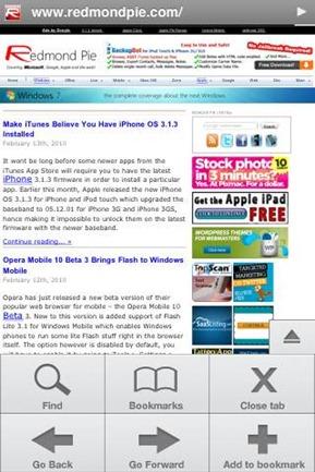 iDroid Mini Browser