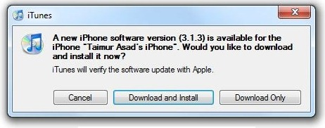 iPhone 3.1.3 Firmware