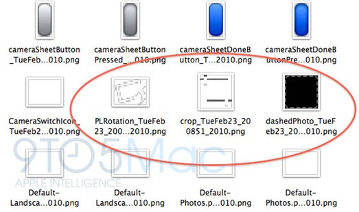 iPhone 3.2 Photo Editing