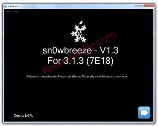sn0wbreeze 3.1.3