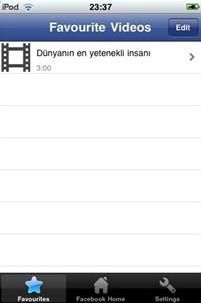 Facebook Video Player