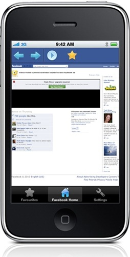 Facebook Video Player for iPhone and iPad