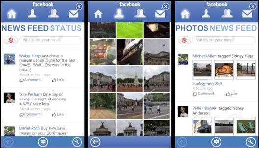 Facebook for Zune HD