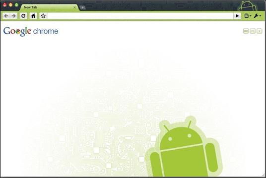 Android theme for google chrome redmond pie voltagebd Images