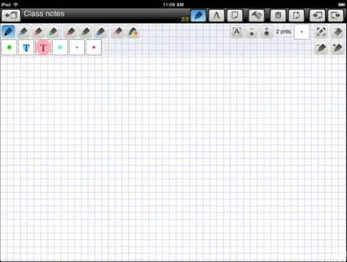 PadNotes App for iPad