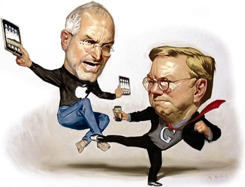 Steve Jobs vs Eric Schmidt