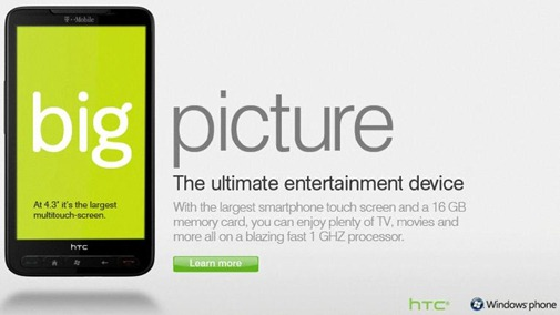 T-Mobile HTC HD2