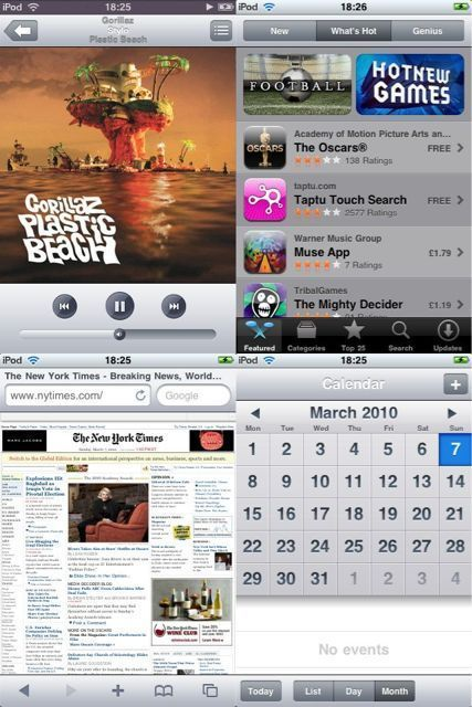 iPad UI Theme for iPhone and iPod touch