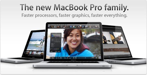 MacBook Pro with Core i5 and i7