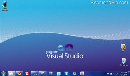Visual Studio 2010 Theme for Windows 7