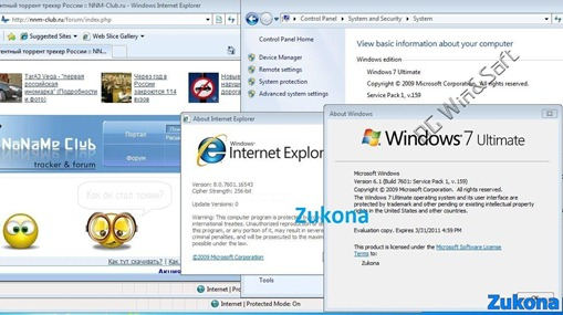 Windows 7 SP1 7601