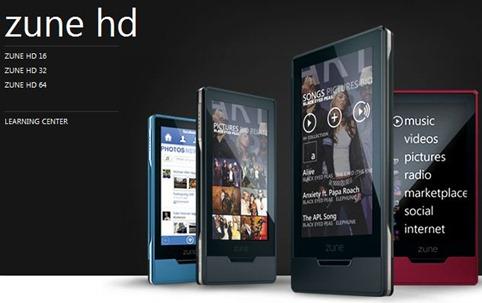 Zune HD 64GB