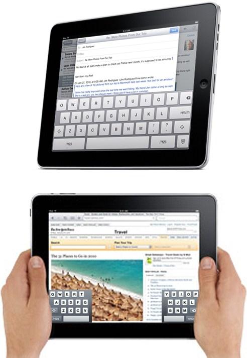 iPad Keyboard Concept