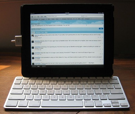 iPad Keyboard Dock Landscape Mode (1)