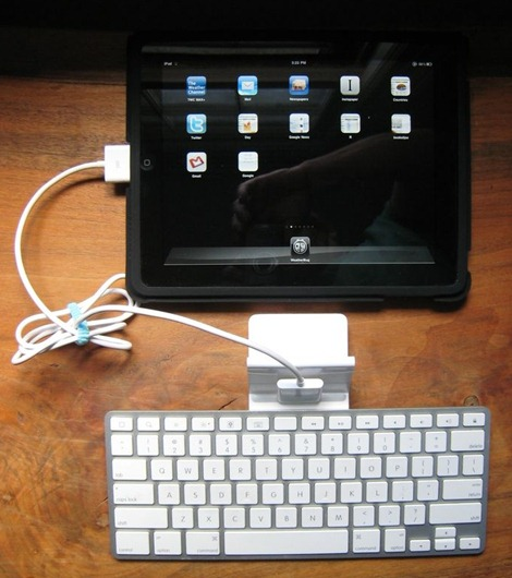 iPad Keyboard Dock Landscape Mode (2)
