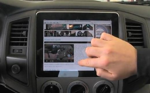 iPad in Car