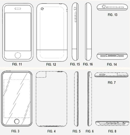 iPhone Design Patent