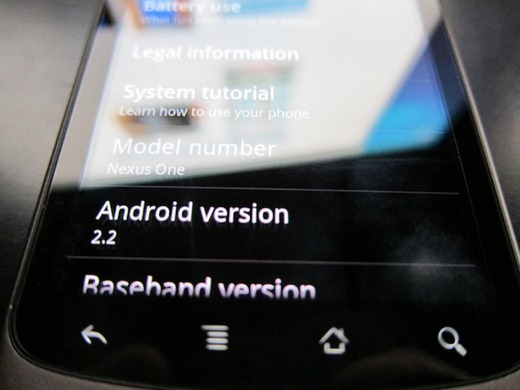 Android 2.2 for Nexus One (1)