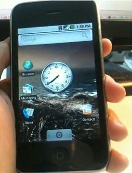 Android on iPhone 3G