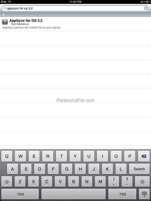 AppSync for iPad 3.2