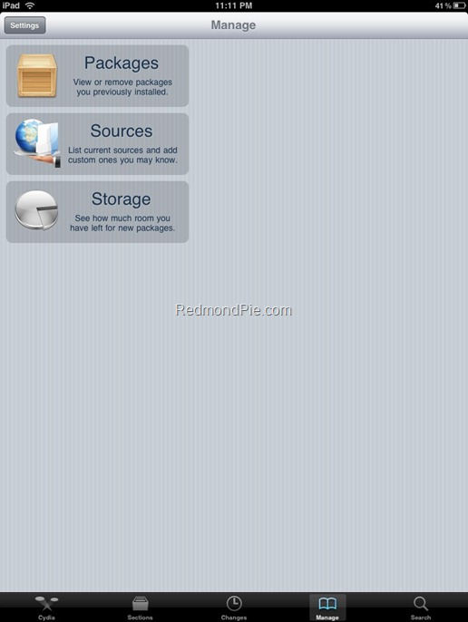 AppSync for iPad 3.2