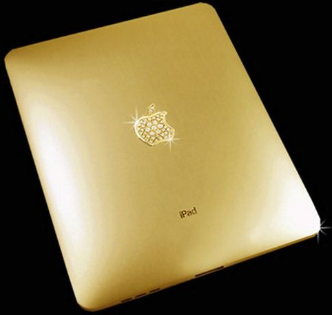 Gold+Diamond iPad