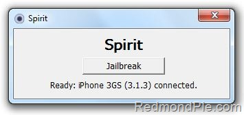 Spirit for iPhone 3GS