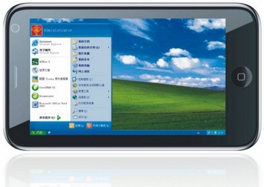 This Oversized Iphone Runs Windows Xp On A 7 Inch Screen
