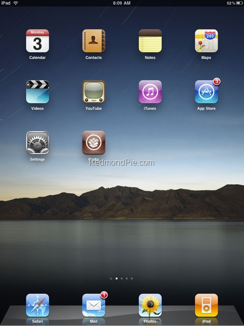 iPad Jailbreak with Spirit