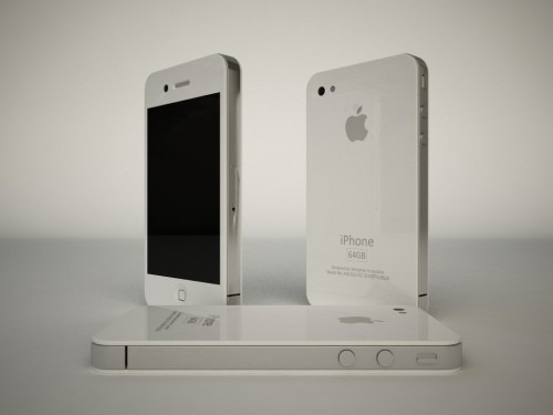 iPhone 4G HD White (1)