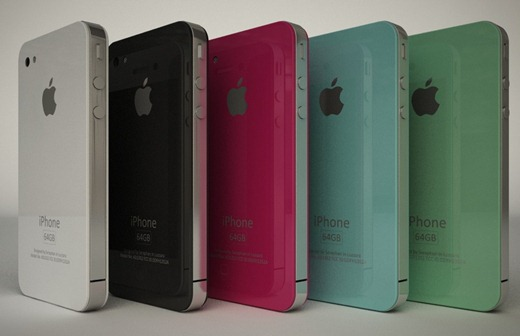 iPhone 4G HD in Many Colors