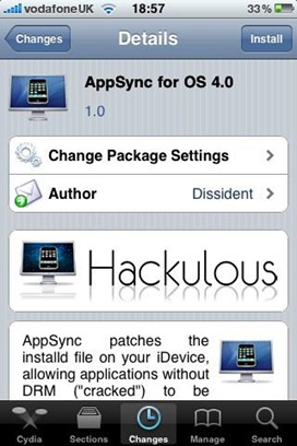 AppSync for OS 4.0