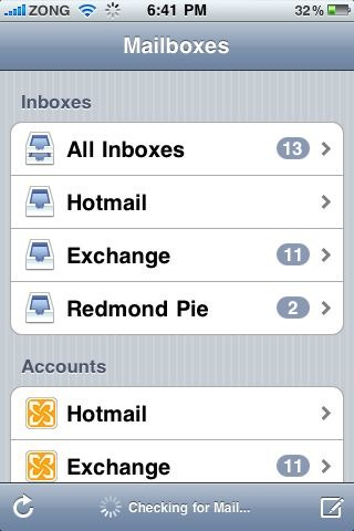 Hotmail Exchange ActiveSync