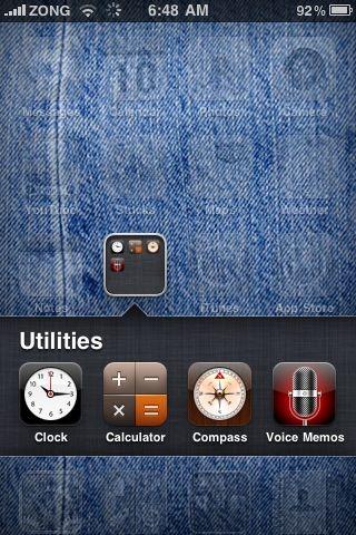 Folders in iOS 4