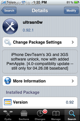 Unlock iOs 4.0 Ultrasn0w (2)