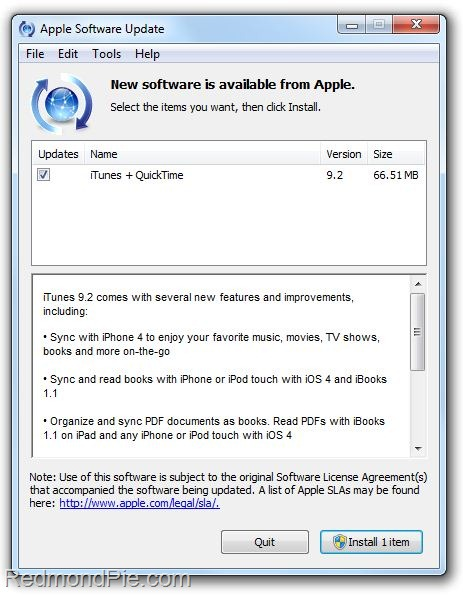 Download iTunes 9 2 for Windows and Mac | Redmond Pie