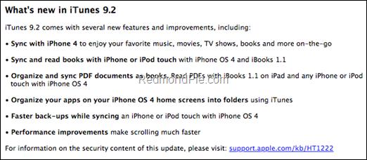 iTunes 9.2 Beta Features