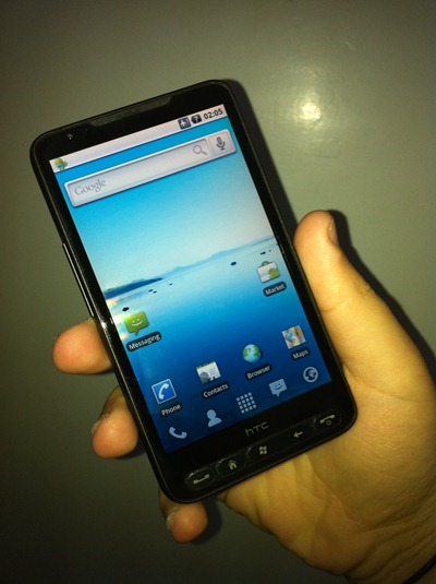 Android 2.1 on HTC HD2